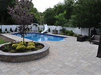 pool enhancements Wading River