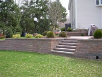 home landscaping project Long Island